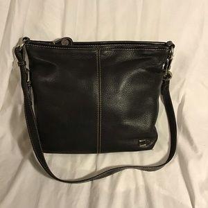 The Sak - Pebbled Leather Zip Top Hobo Bag